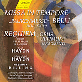 J. Haydn: Paukenmesse;  M. Haydn: Requiem / Rilling, et al