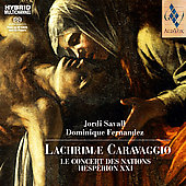 Lachrimae Caravaggio / Savall, Fernandez, et al