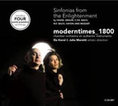 Sinfonias from the Enlightenment - Hasse, Graun, CPE Bach, etc / moderntimes_1800
