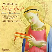 Morales: Magnificat, Motets & Lamentations / Stephen Rice, Brabant Ensemble