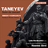 Taneyev: Suite de concert;  Rimsky-Korsakov: Fantasy on 2 Russian Themes / J&auml;rvi, Mordkovitch, et al