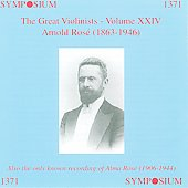The Great Violinists Vol 24 - Arnold Rosé