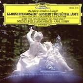 Mozart: Clarinet Concerto, Concerto for Flute & Harp / B&#246;hm