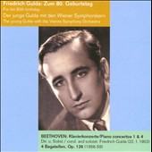 Beethoven: Piano Concertos 1 & 4 / Friedrich Gulda