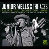 Junior Wells: Live in Boston 1966 [Digipak]