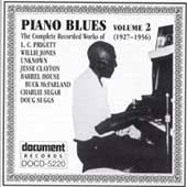 Various Artists: Piano Blues, Vol. 2: 1927-1956 [Document]