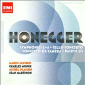 20th Century Classics: Honegger / Johathan Snowden, flute; Rostropovich, cello