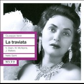 Verdi: La traviata /  Zeani, Walters, Covent Garden - Santi
