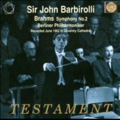 Brahms: Symphony No. 2 / Barbirolli - Berlin PO