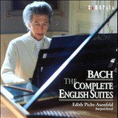Johann Sebastian Bach: The Complete English Suites / Edith Picht-Axenfeld, harpsichord