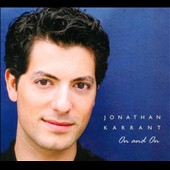 Jonathan Karrant: On and On [Digipak]