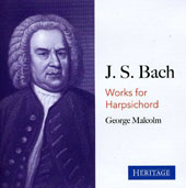 J.S. Bach: Works for Harpsichord / Malcolm, Pro Arte Orchestra