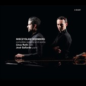 Mieczyslaw Weinberg: Complete Sonatas and works for violin & piano / Linus Roth: violin; José Gallardo: piano