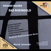 Wagner: Das Rheingold / Tomasz Konieczny; Christian Elsner; Iris Vermillion; Gunther Groisbock. Marek Janowski (live, 11/22/12)