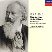 Brahms: Works for Solo Piano / Julius Katchen