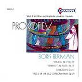 Prokofiev: Complete Piano Music Vol 2 / Boris Berman