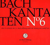 J.S. Bach: Cantatas, Vol. 6 / Choir & Orchestra of the J.S. Bach Foundation; Lutz