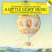Mozart: A Little Light Music / Orpheus Chamber Orchestra