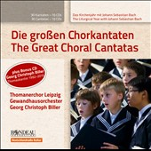 The Liturgical Year with J.S. Bach: The Great Choral Cantatas / Thomanerchor Leipzig; Gewandhausorchester, Georg Christoph Biller [11 CDs]