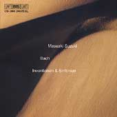 Bach: Inventionen & Sinfonien / Masaaki Suzuki
