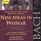 Edition Bachakademie Vol 90 - New Ideas in Weimar / Marcon