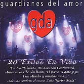Guardianes del Amor: Exitos en Vivo