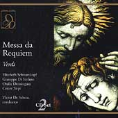 Verdi: Messa da Requiem / De Sabata, Schwarzkopf, et al