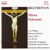 Beethoven: Missa Solemnis / Schermerhorn, Nashville Symphony