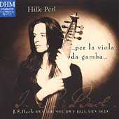 Bach: Suites BWV 1011, BWV 1025, etc / Hille Perl