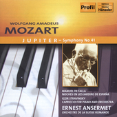 Mozart: Jupiter Symphony;  Stravinsky / Ansermet, et al