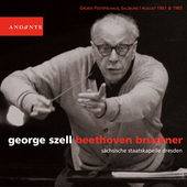 Beethoven;  Bruckner: Symphony no 3 / George Szell