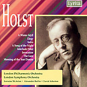 Holst: A Winter Idyll, Elegy, Indra, etc / Atherton