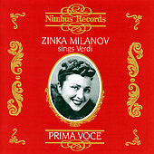 Prima Voce - Zinka Milanov