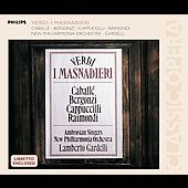 Verdi: I Masnadieri / Gardelli, Caball&#233;, Bergonzi