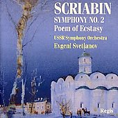 Scriabin: Symphony no 2 & 4 / Svetlanov, USSR SO