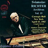 Legendary Treasures - Sviatoslav Richter Archives Vol 15