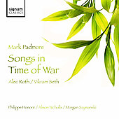 Roth: Songs in Time of War / Padmore, Honoré, Nicholls, Szymanski