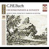C.P.E. Bach: Oboe Concerto & Sonatas / Alexei Utkin, Hermitage Chamber Orchestra