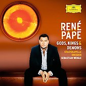 Ren&eacute; Pape - Gods, Kings & Demons / Sebastian Weigle, Staatskapelle Dresden