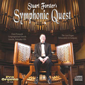 Symphonic Quest - Holst, Widor, Beethoven, Vaughan Williams, Vierne, Daquin, etc / Stuart Foster