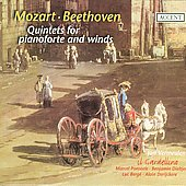 Mozart, Beethoven: Quintets for Pianoforte and Winds