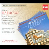 Verdi: Nabucco / Muti [Includes CD-ROM]