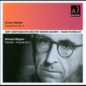 Gustav Mahler: Symphony No. 4; Richard Wagner: Parsifal - Prelude Act 1