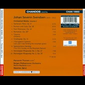Johan Svendsen: Orchestral Works, Vol. 1 / Marianne Thorsen, violin