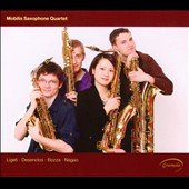 Mobilis Saxophone Quartet plays Ligeti, Desenclos, Bozza & Nagao