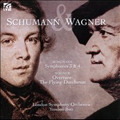 Schumann: Symphonies Nos. 3 & 4; Wagner: Overture: The Flying Dutchman - LSO