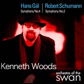 Hans G&#225;l: Symphony No. 4; Schumann: Symphony No. 2 / Kenneth Woods