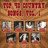 Various Artists: Top 40 Country Songs, Vol. 1 [Box]