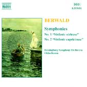 Berwald: Symphonies 1 & 2, etc / Kamu, Helsingborg SO