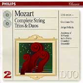 Mozart: Complete String Trios & Duos / Grumiaux Trio, et al